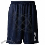 Lined Tricot Mesh Adult Performance Shorts - 9