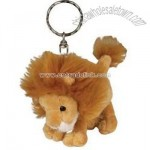 Lion Plush Keychain
