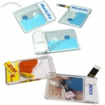Liquid Aqua Card USB Flash Drive