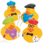 Little Artist Rubber Duckies