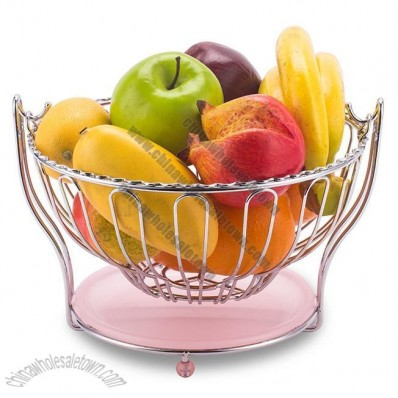 Living Room Fruit Basket Tray