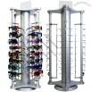 Locking Counter Top Rotating Sunglass Display Stand - Holds 32 Pairs