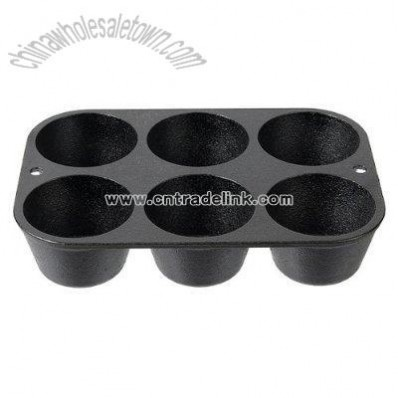 Lodge Straight-Sided Muffin Pan