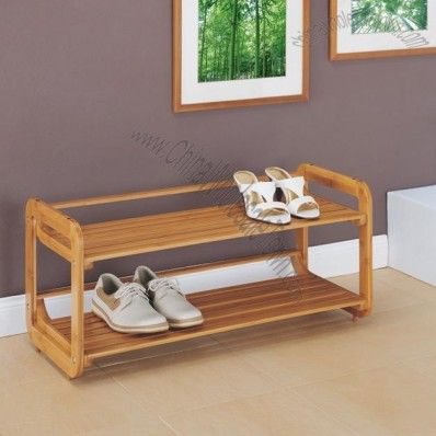 Lohas 2 Tier Stackable Shoe Rack