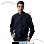 Long Sleeve Poly-Cotton Easy Care Poplin Shirt