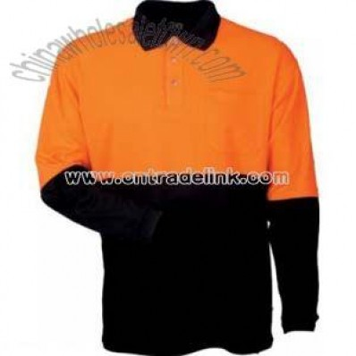 Long Sleeve Safety Polo