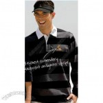 Long-Sleeved Striped Rugby Shirt