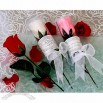 Long Stemmed Rose Petal Soap Favor