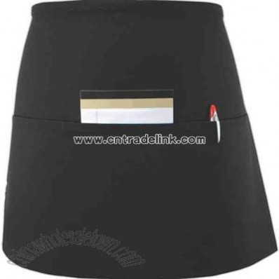 Long three pocket waist apron