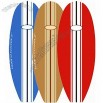 Longboard Surfboard Shaped Beach Towel Santa Cruz