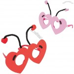 Love Bug Glasses Craft Kit