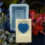 Love Heart Handmade Soap Molds Soap Mould Biscuit Mold Square Mold
