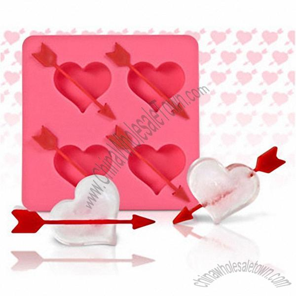 ... Heart and Arrow Ice Cube Tray] ...