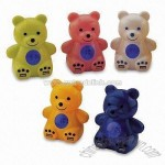 Lovely Bear 4-port USB HUB with 4-digit LCD