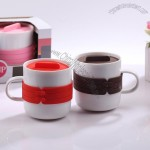 Lover Mugs with Color Lid
