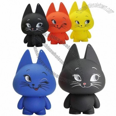 Lover Rabbit Cartoon Speakers for Cellphones with Colorful Appearance
