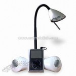 Low Voltage Halogen Desk Lamp with Neodyminium Speakers