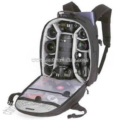 Backpack Camera on Camera Backpack Black  Wholesale China Lowepro Computrekker Aw Camera