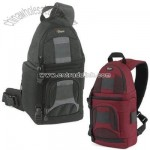 Lowepro SlingShot 100 All-Weather Digital Camera Backpack-Black&Red