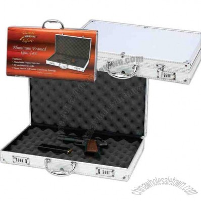 Lowest priced aluminum framed gun case.