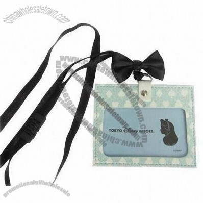 Luggage Tag with Butterfly Knot