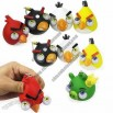 Lujex 5x Super ANGRY BIRDS & PIG Popping Eyes Stress Ball Figure