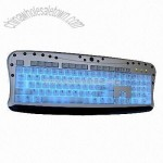 Luminescent Multimedia Keyboard