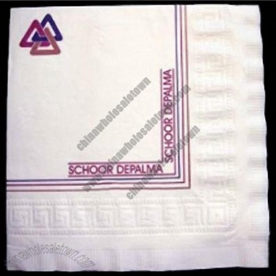 Luncheon 3-ply White Napkin