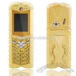 Luxurious Gold Mobile Phone