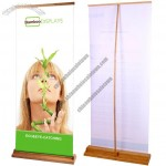 Luxury Bamboo Banner Stand