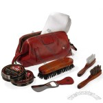 Luxury Men's Travel Shoe Shine Kit