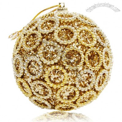 Luxury Rhinestone Christmas Balls