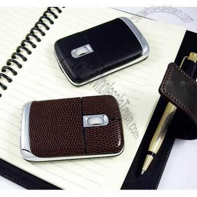 Luxury USB Leather Mouse