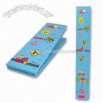 MDF foldable growth chart