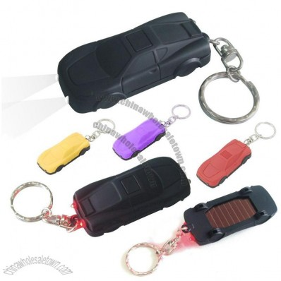 MIni Car Shaped Solar Keychain Light