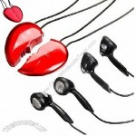 MP3 Player (2 in 1 Heart Shape)