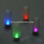 Magic Blow On / Blow Off Heatless Electronic Candle Set of 4