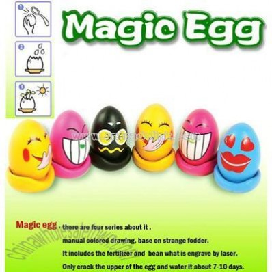 Magic Egg DIY Flower