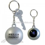Magic Fortune Ball Keychain
