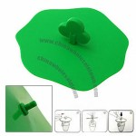 Magic Green Shamrock Silicone Lid Tea Cup Coffee Cover Cap