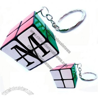 Magic Puzzle Cube/Key Chain