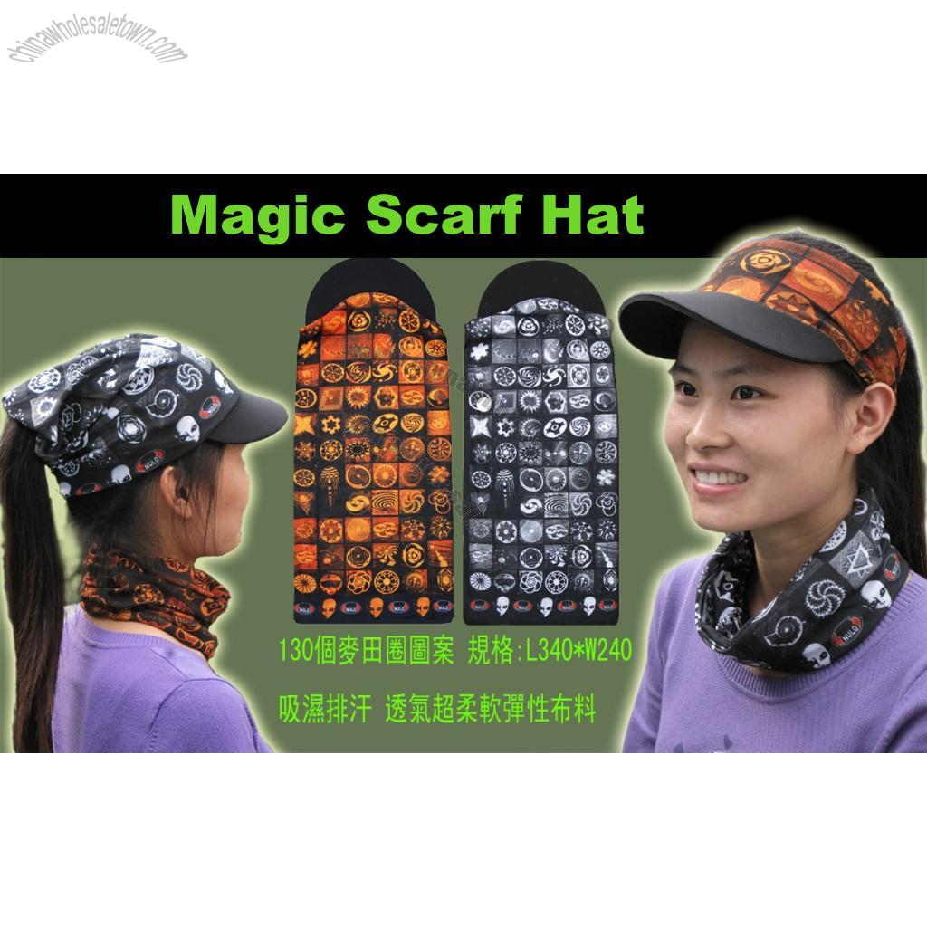 Magic Scarf Hat Suppliers, China Magic Scarf Hat
