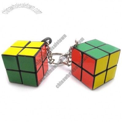 Magical Cube Keychain