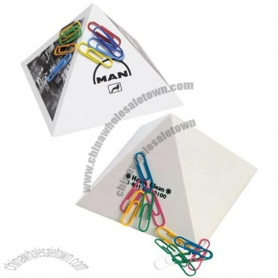 Magnet Pyramid Paper Clip Holders