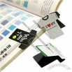 Magnetic Bookmark in T-shirt Shape