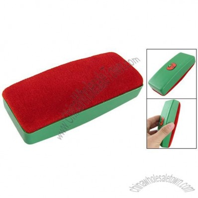 Magnetic Cartoon Tomato Green Red Velvet Chalkboard Chalk Eraser