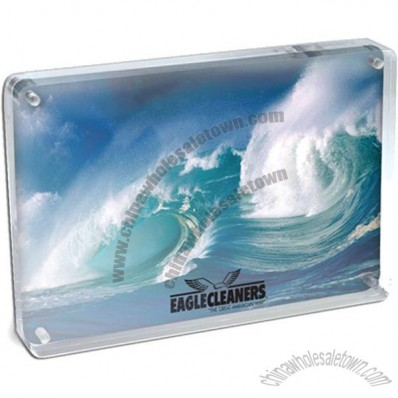 Magnetic Clear Acrylic Photo Frame 4