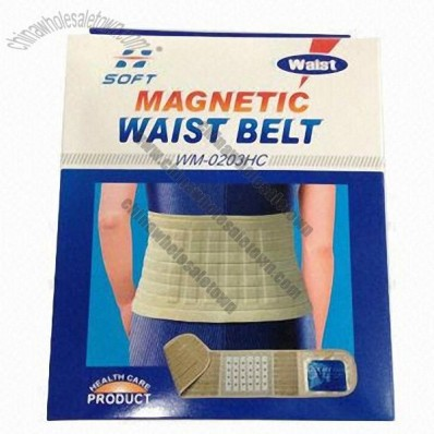 Magnetic Elastic Waist Belt With Hot Cold Pack