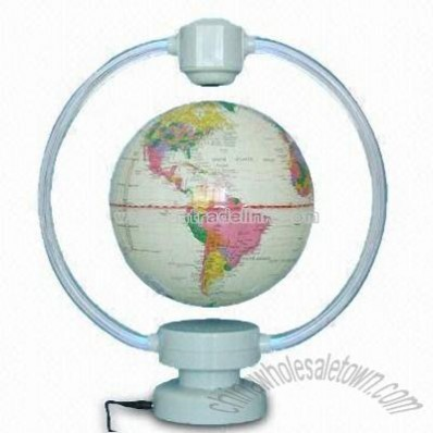Magnetic Levitating World Globe