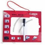 Magnetic Memo Board 0.5mm soft magnet with 200g chrome paper